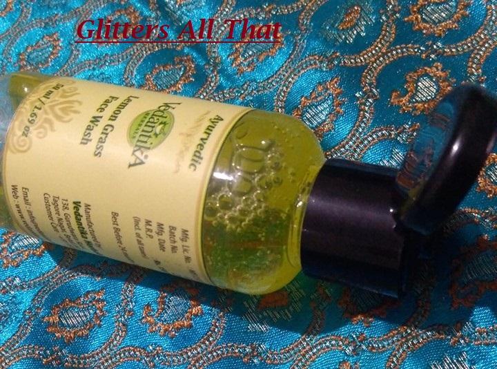 Vedantika Herbals Lemon Grass FaceWash