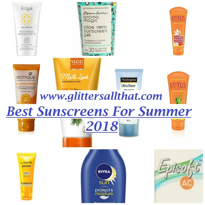 Best Sunscreens for Summer 2018