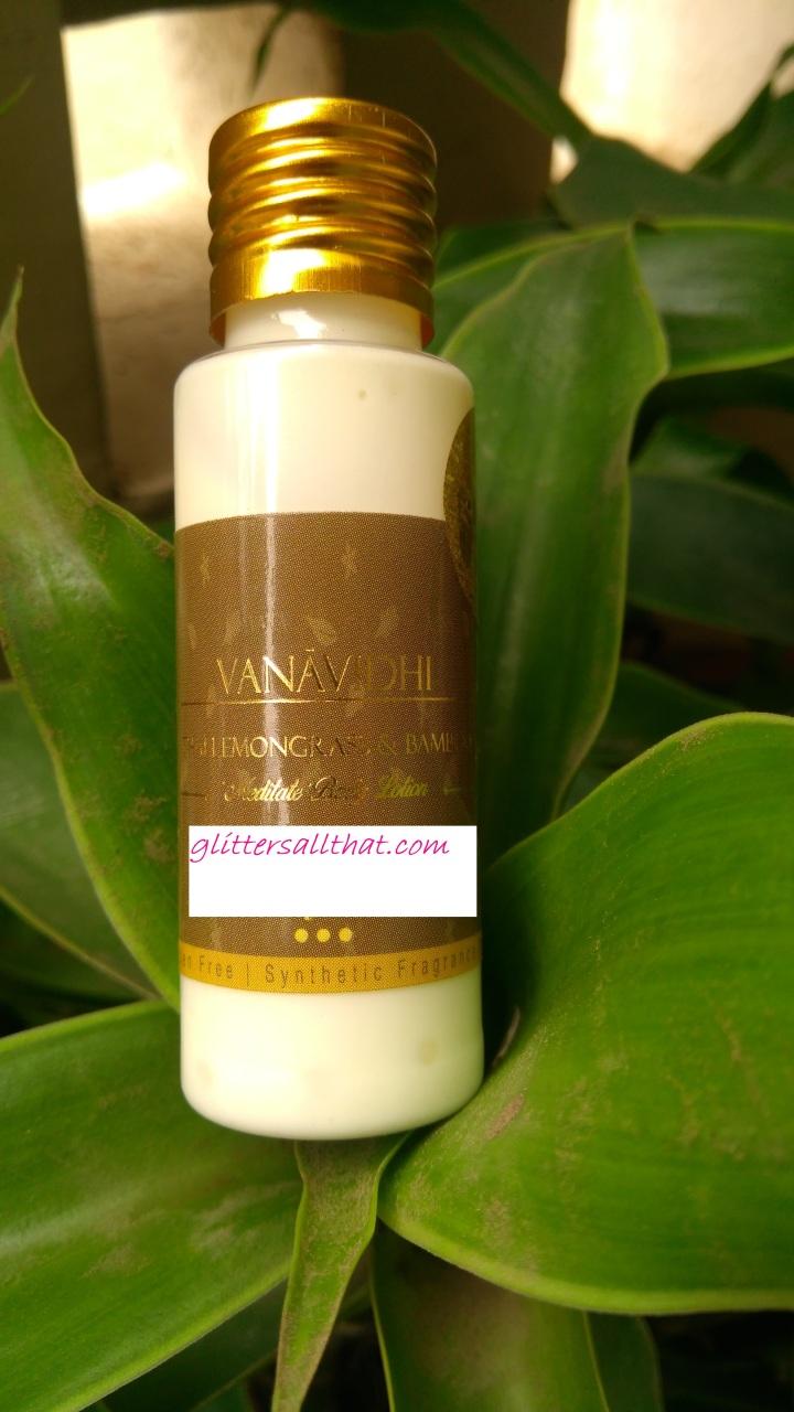 VANA VIDHI 'Meditate' Thai Lemongrass & Balinese Bamboo BodyLotion