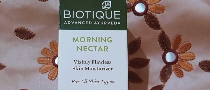 Biotique Morning Nectar Flawless Skin Moisturizer