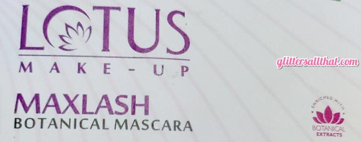 Lotus Make-Up Maxlash Volumizing Botanical Mascara – IntenseBlack