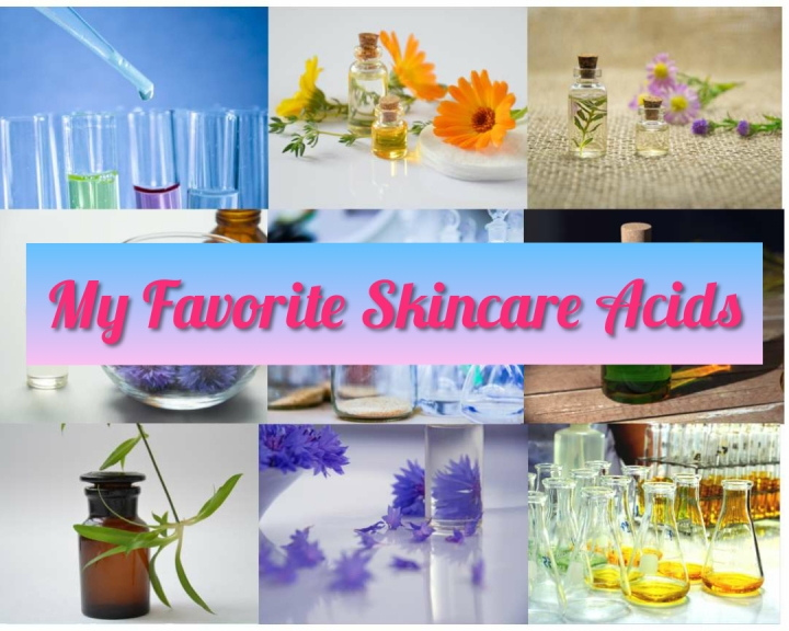My Favourite Skincare Acids