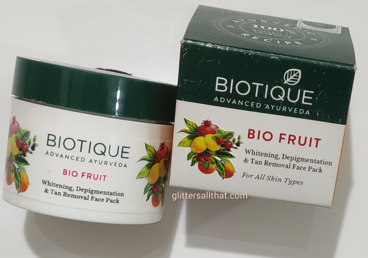 Biotique Bio Fruit Whitening, Depigmentation & Tan Removal Face Pack
