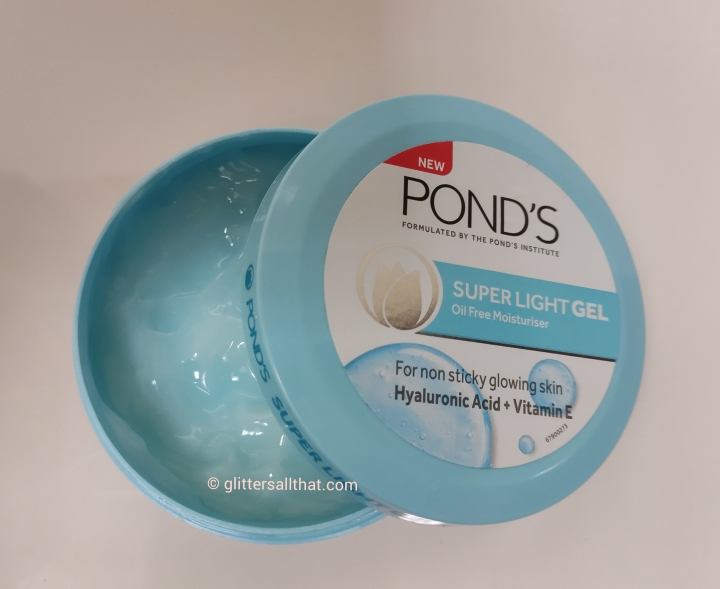 Ponds Super Light Gel Oil Free Moisturiser