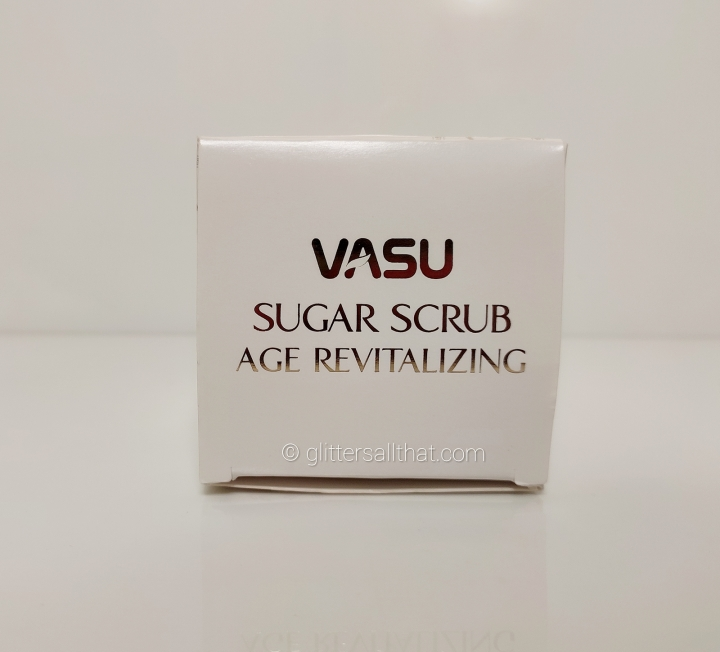 Vasu Age Revitalizing Sugar Scrub